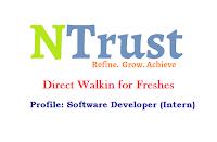NTrust-Infotech-freshers-walkin