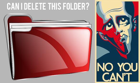 Cara Menciptakan Folder Tidak Dapat Dihapus Di Laptop
