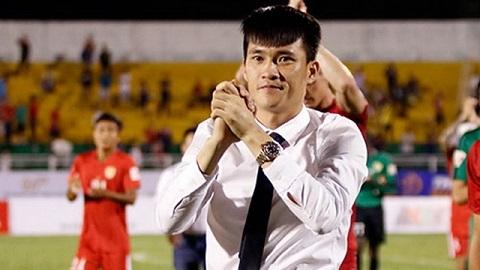 Anh được mời về giữ quyền chủ tịch CLB bóng đá TPHCM