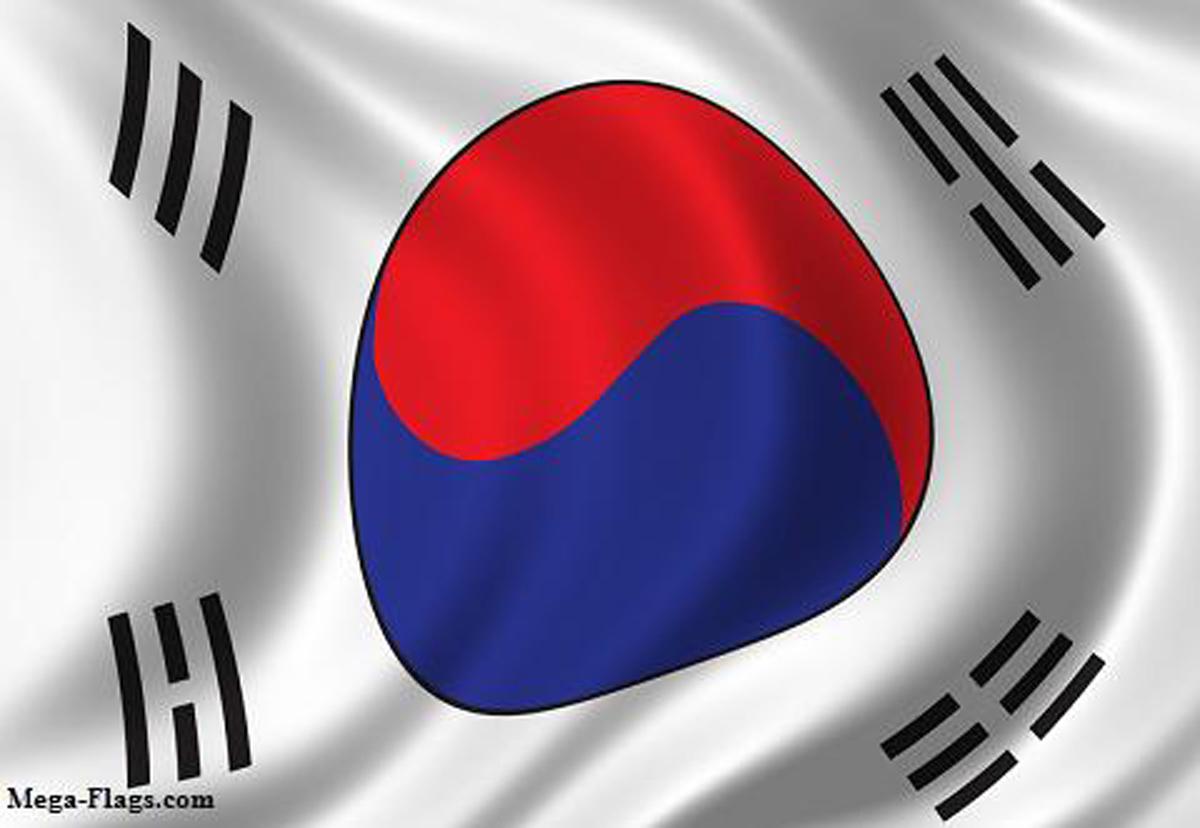Graafix Wallpaper Flag Of South Korea