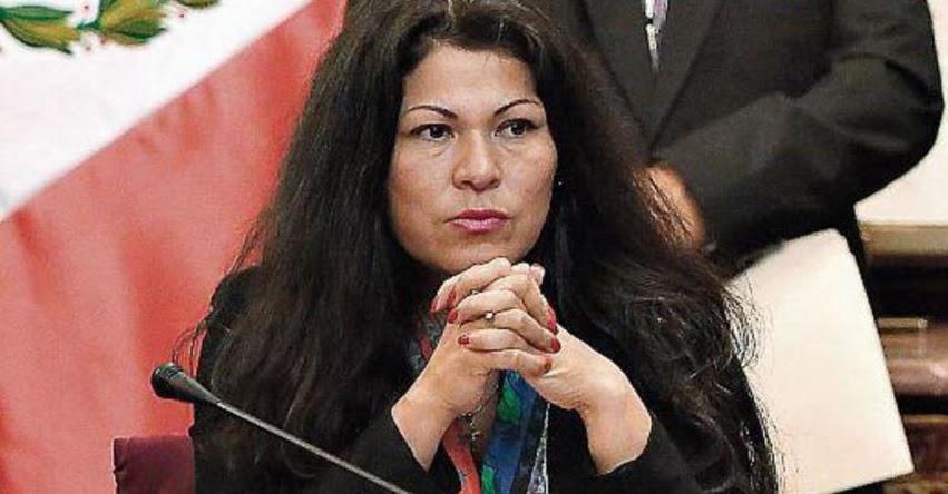 Congresista Fujimorista Yesenia Ponce, fue suspendida por 120 días por mentir en su hoja de vida sobre estudios secundarios