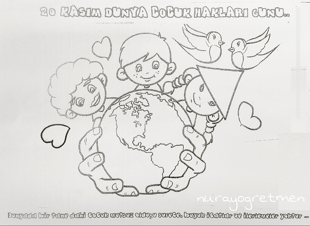 Sanatetkinligi 20 Kasım Dünya çocuk Hakları Günü