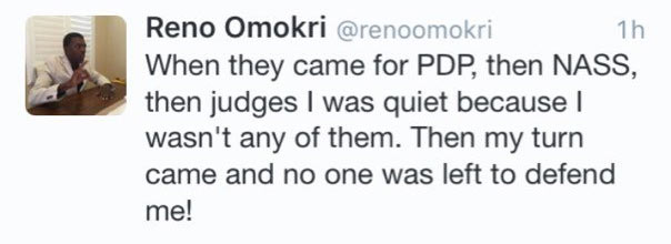 Reno Omokri just did somebody dirty on Twitter