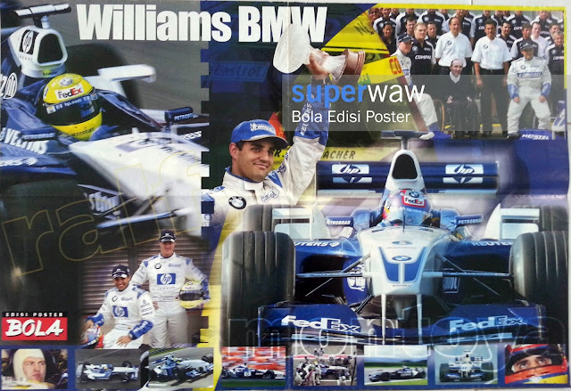 Big Poster Williams BMW