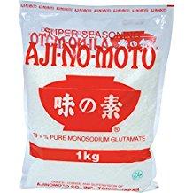 Glutamat Amazon.de , Aji-No-Moto Glutamat 99%, 1er Pack (1 x 1 kg Packung)
