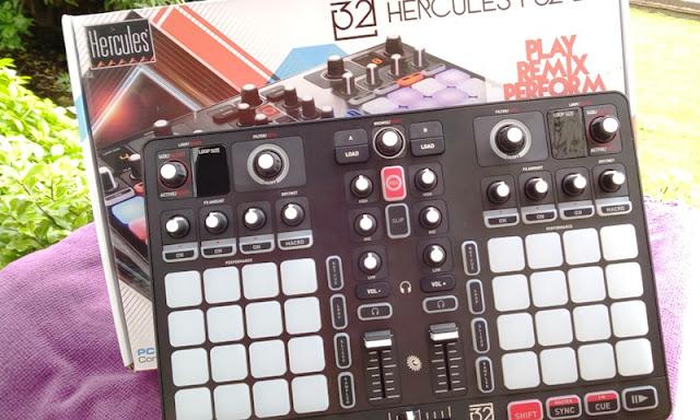 Hercules P32dj Beatpad Dj Midi Controller + Djuced 40° App!