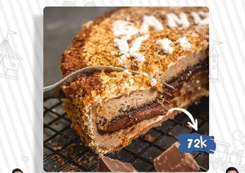 kunafe chocolate oleh oleh kekinian bandung