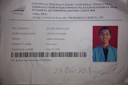 Recruitment PT Kereta Api Indonesia Persero - Tips & Pengalaman Mengikuti Tes