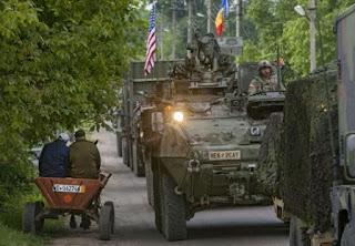 La participation de soldats moldaves à des exercices militaires à l'étranger