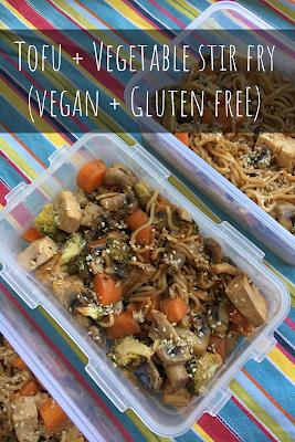 Tofu + Vegetable Stir Fry (Vegan + Gluten Free)