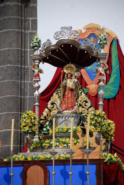 Resultado de imagen de coronacion canonica de Ntra. Sra. de el Socorro de Guimar