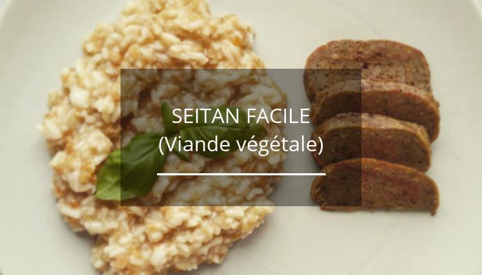 Ma recette de Seitan facile (viande végétale) - La Super Graine