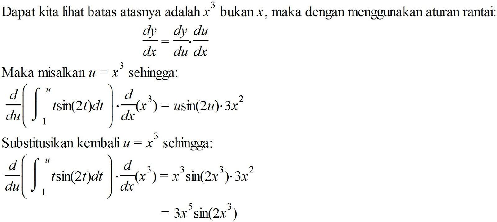 Teorema Dasar Kalkulus 2
