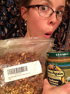 casey the college celiac granola sunflower butter