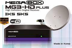 ATUALIZAÇÃO MEGABOX MG3 PLUS SAT - 13/08/2017
