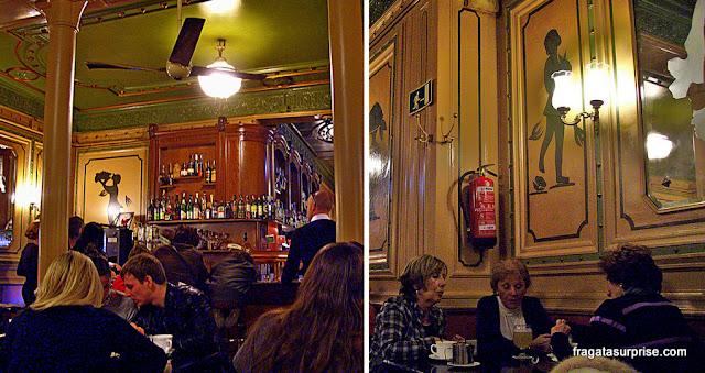 Café del'Ópera, casa tradicional das Ramblas, em Barcelona