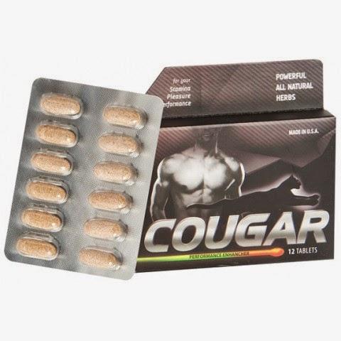 Cougar Suplemen Penambah Gairah pada Pria