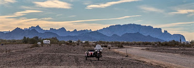 The Southwestern Sojourn - Day 20: Scarlett s 60K Km service and last day at Quartzsite