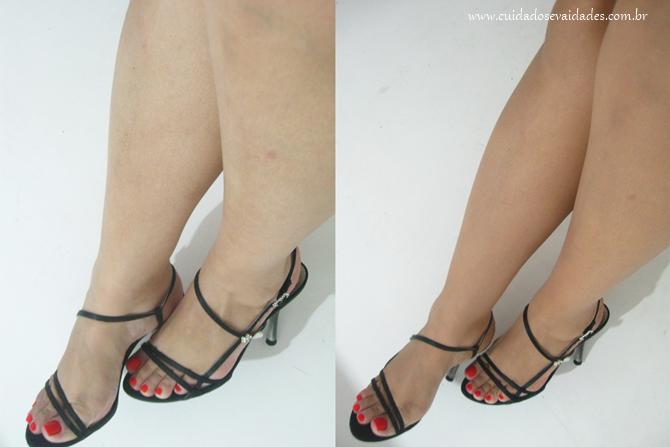 Maquiagem para pernas Meia calça Instantânea