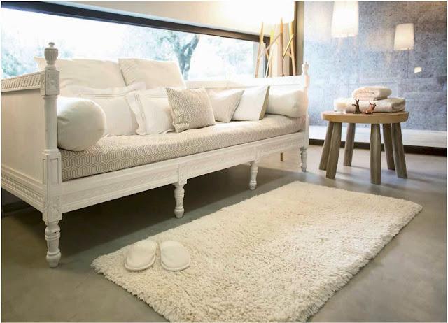 Shag Abyss Habidecor alfombra de baño