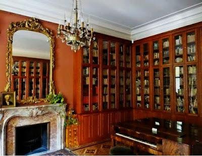 Biblioteka I.J.Paderewskiego w Pałacu Pusłowskich