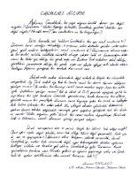 Bir öğrencinin el yazısıyla yazdığı Çanakkale ve şehitlerimiz ile ilgili kompozisyon örneği