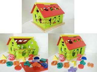 Rumah Angka Mainan Edukasi
