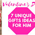 7 Unique Valentine's Day Gift Ideas for Him
