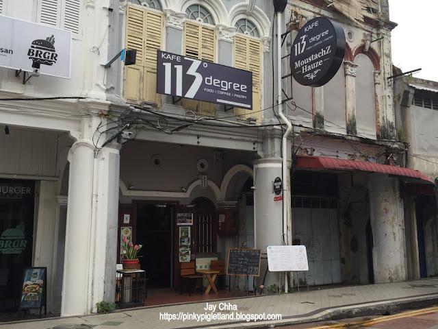 113 Degree Cafe Penang