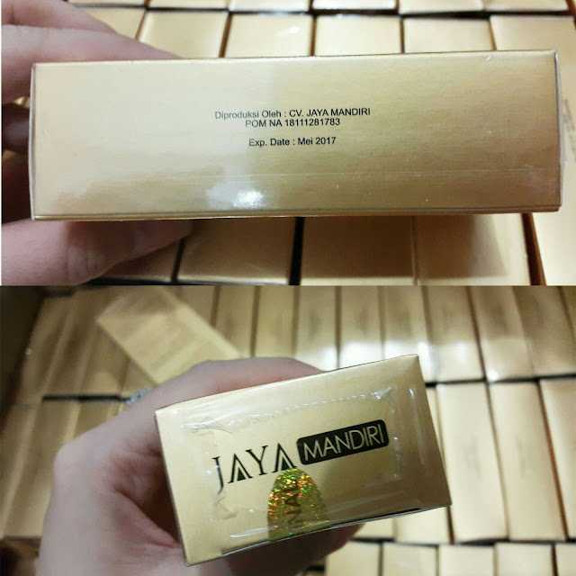 SERUM GOLD WHITENING CV JAYA MANDIRI Serum Gold ORIGINAL