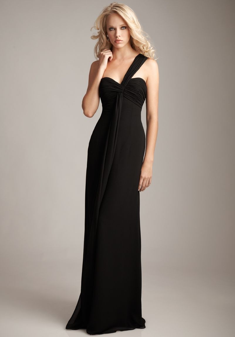 WhiteAzalea Elegant Dresses: Black Long Sheath Dresses ...