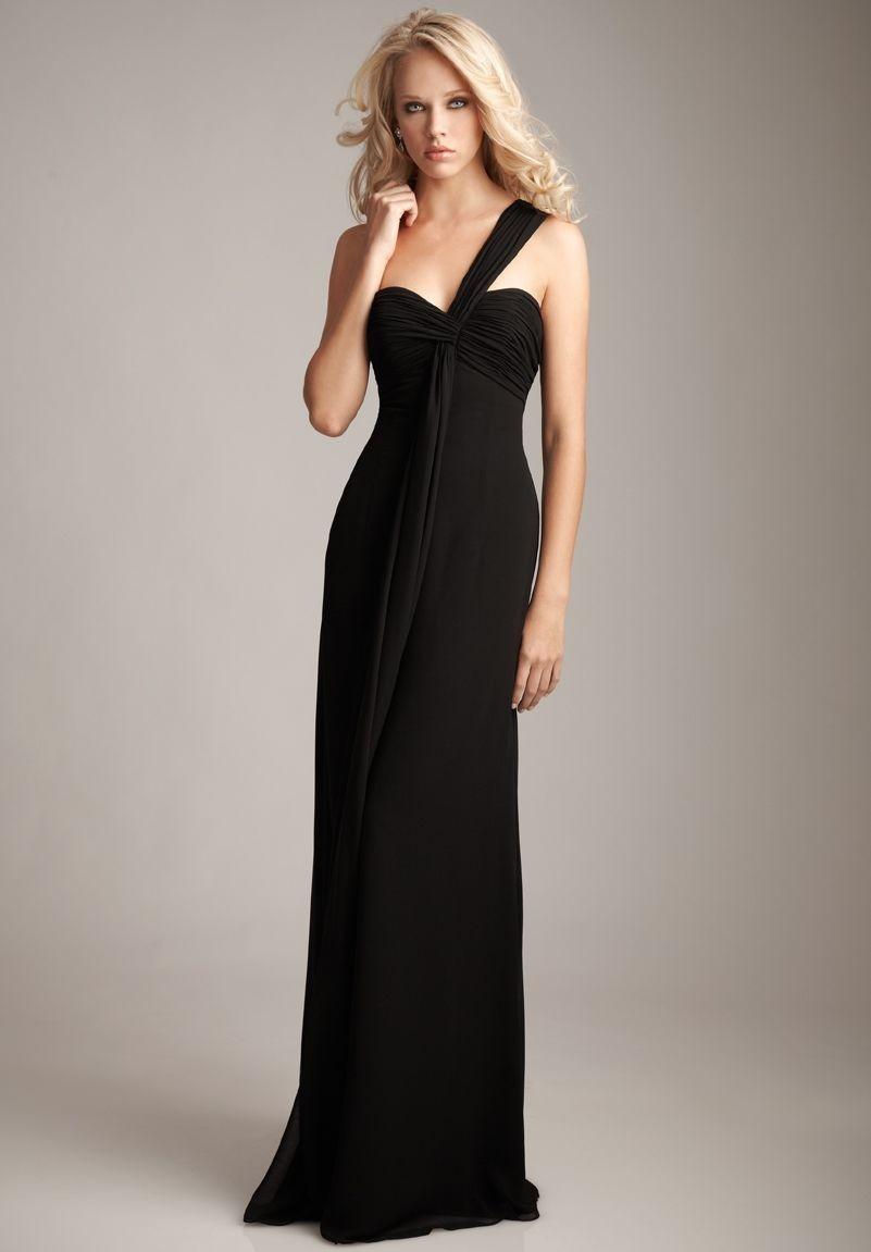 elegant black prom dresses - photo #47