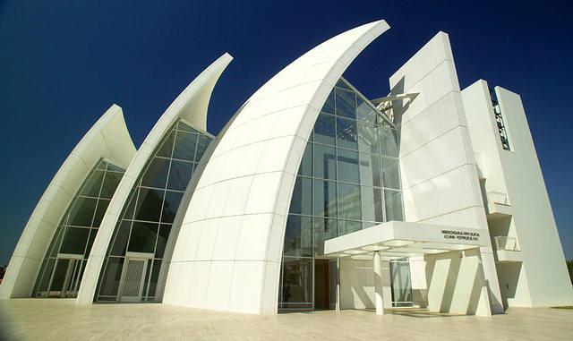 Richard Meier Igreja do Jubileu Roma 1996 2003