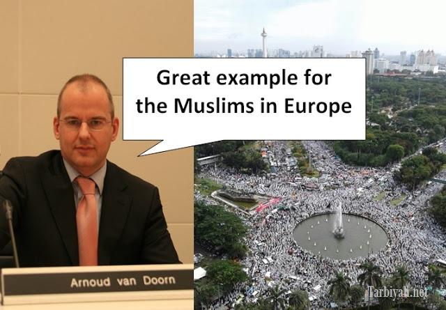 Arnoud Van Doorn: Aksi 212 Contoh Hebat Untuk Muslim Eropa