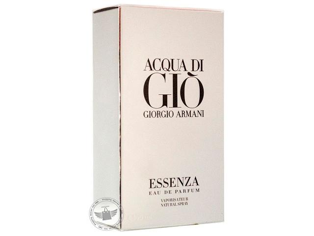 New Giorgio Armani Acqua Di Gio Essenza Eau De Parfum Spray Full