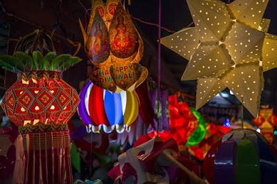 Diwali Lanterns Wallpaper Images