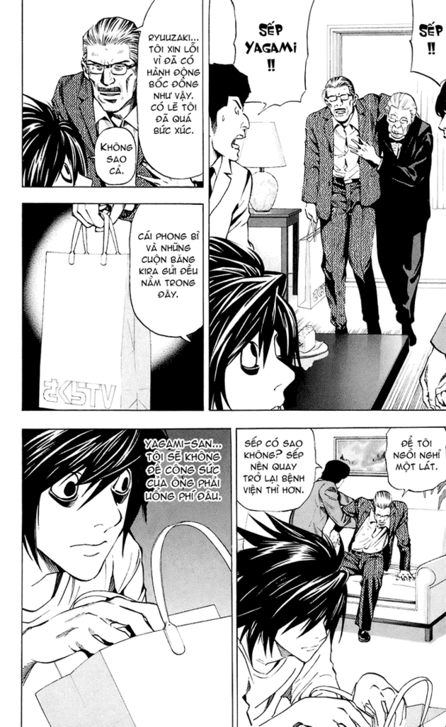 Death Note chapter 024 trang 16