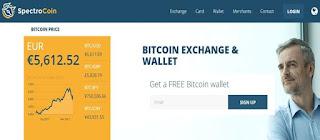 Spectrocoin Bitcoin Wallet