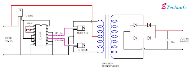 How to Step Up 12V DC to 240V DC