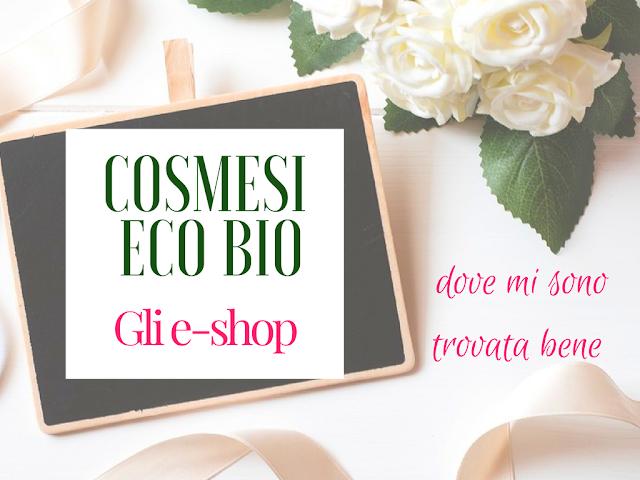 cosmetici eco bio gli e-shop provati