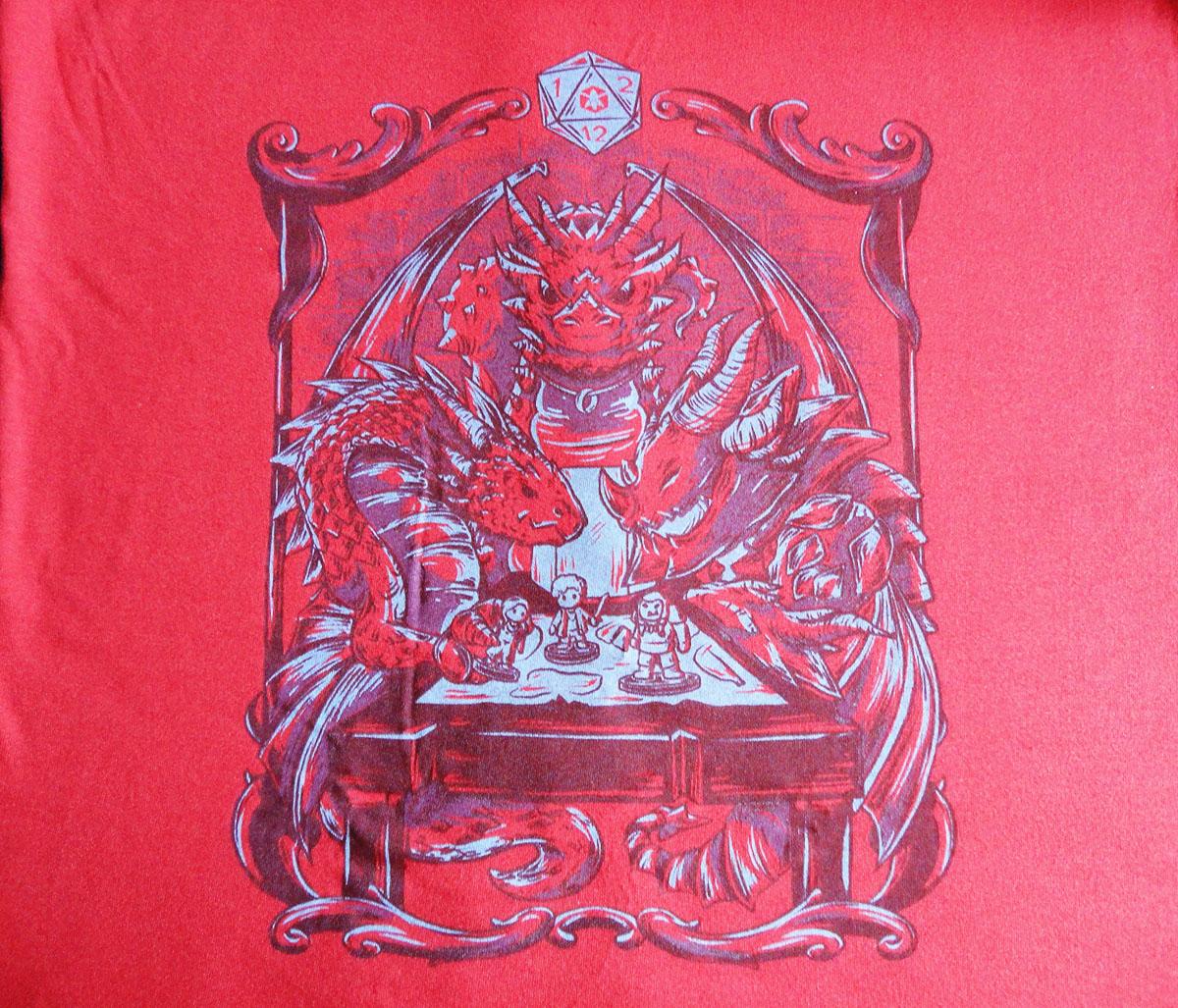 Nerdloot 12 camiseta