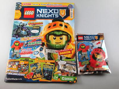 Revista LEGO Nexo Knights nº 8, fevereiro 2018