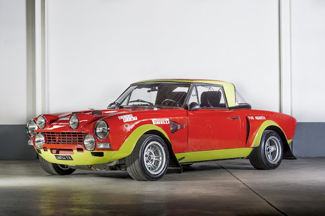 1974 Fiat 124 ABARTH Group 4 - #Fiat #ABARTH #Group4 #classiccar #forsale