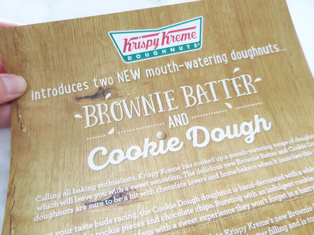 Brownie Batter Doughnuts with Krispy Kreme | Recipes