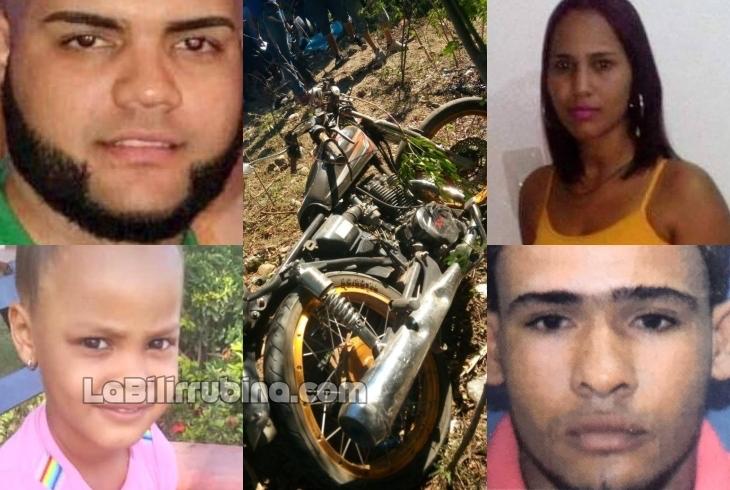 Cuatro personas mueren en accidente de tránsito en Baní