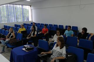 Professores do curso de Farmácia do CES discutem reformulação de plano pedagógico