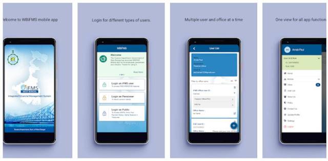 Install WBiFMS (West Bengal Finance Dept) Mobile App