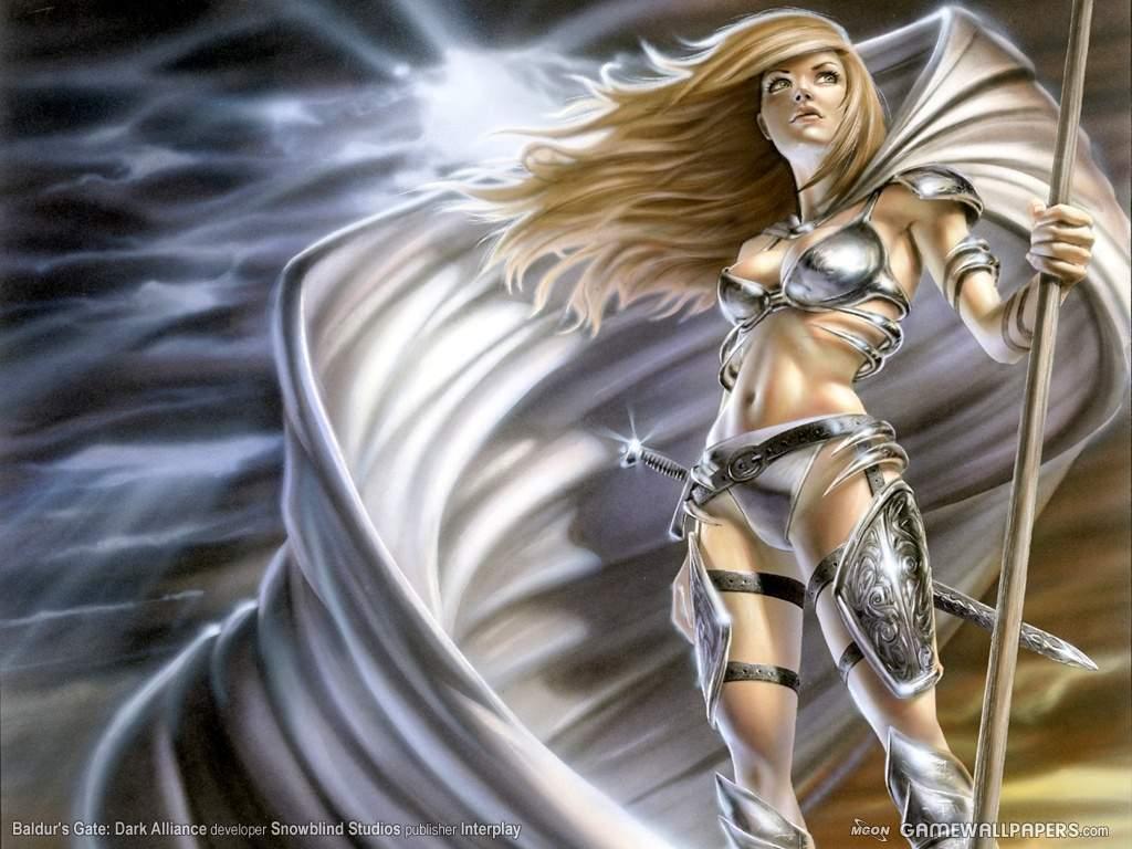 World of warcraft owns - Anime female warrior ...