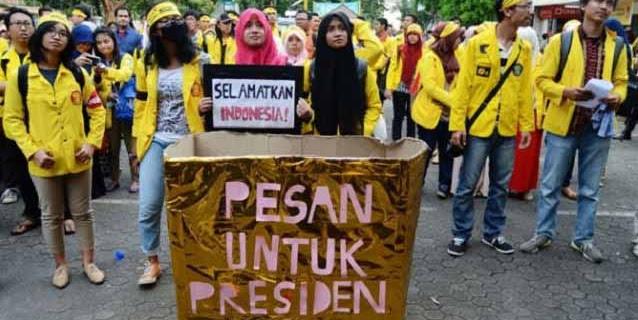 BEM Seluruh Indonesia Serukan Kepung Istana Hari Ini