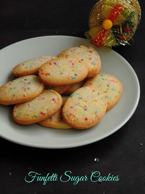 Funfetti sugar cookies,sugar cookies